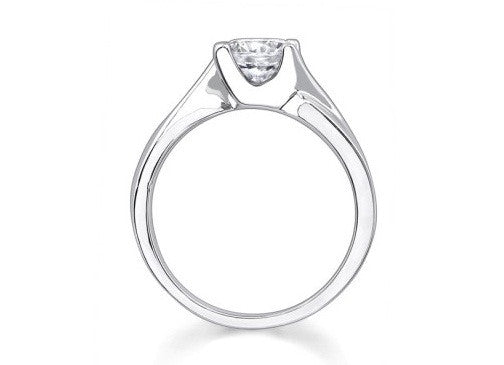 1.60 CARATS 14KT SOLID GOLD ROUND SHAPE SOLITAIRE EXCLUSIVE WEDDING RING
