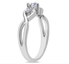 2.10 CARATS 18KT SOLID GOLD GLORIOUS ROUND SHAPE SOLITAIRE ENGAGEMENT RING