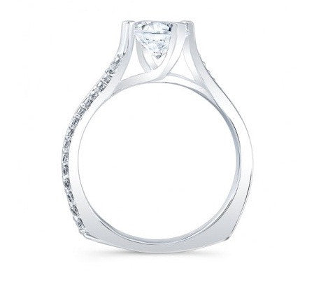 1.55 CARATS ROUND SHAPE 925 STERLING SILVER SOLITAIRE WEDDING RING