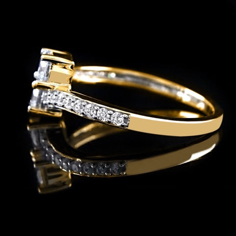 14KT SOLID GOLD 2.35 CARATS AMAZING ROUND SHAPE SOLITAIRE WOMEN'S ENGAGEMENT RING