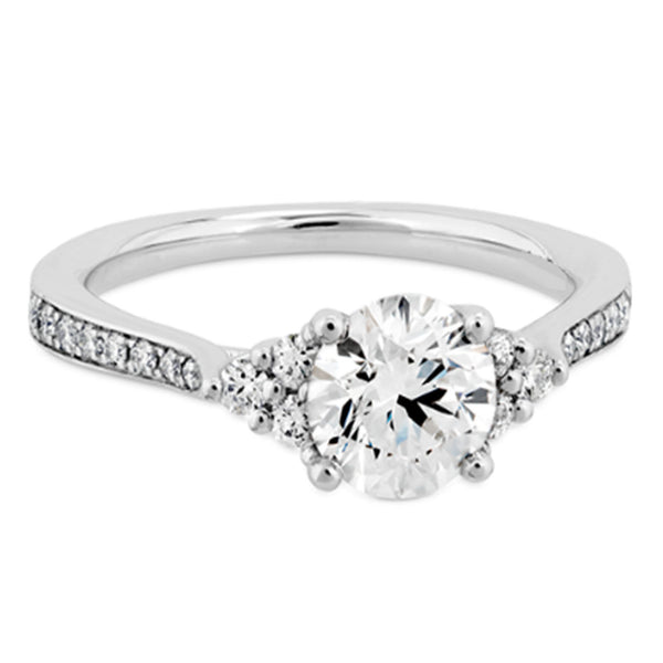 1.00 CARATS ROUND SHAPE 925 STERLING SILVER SOLITAIRE WOMEN'S RING