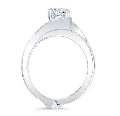 1.70 CARATS ROUND SHAPE 925 STERLING SILVER SOLITAIRE ENGAGEMENT RING