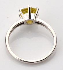 2.00 CARATS TOP QUALITY ROUND SHAPE 14KT SOLID GOLD SOLITAIRE PROPOSAL RING