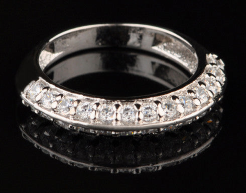 14KT SOLID GOLD 1.15 CARATS EXQUISITE ROUND SHAPE SOLITAIRE WEDDING BAND
