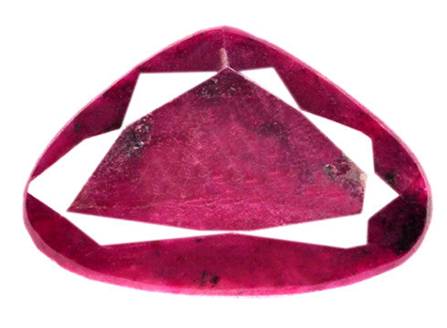 163.00 CARATS TRILLION SHAPE 100% NATURAL RED RUBY LOOSE GEMSTONE WITH FREE CERTIFICATE