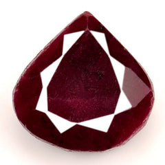 100% NATURAL RED RUBY 84.90 CARATS LOOSE GEMSTONE TRILLION SHAPE WITH FREE CERTIFICATE