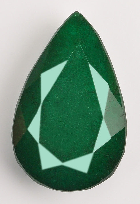 100% NATURAL GREEN EMERALD 237.35 CARATS PEAR SHAPE LOOSE GEMSTONE WITH FREE CERTIFICATE