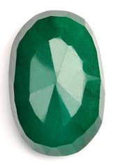 158.80 CARATS OVAL SHAPE 100% NATURAL GREEN EMERALD LOOSE GEMSTONE WITH FREE CERTIFICATE