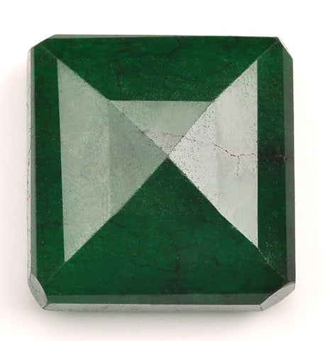 209.65 CARATS OCTAGON SHAPE 100% NATURAL GREEN EMERALD LOOSE GEMSTONE WITH CERTIFICATE