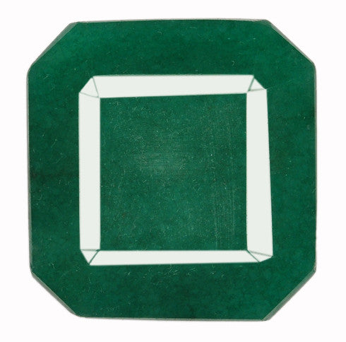 100% NATURAL GREEN EMERALD 234.75 CARATS SUPERB OCTAGON SHAPE LOOSE GEMSTONE WITH FREE CERTIFICATE