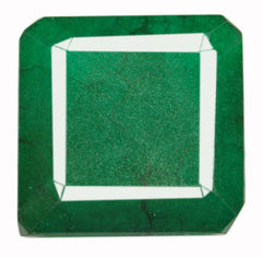 100% NATURAL GREEN EMERALD 160.65 CARATS STUNNING OCTAGON SHAPE LOOSE GEMSTONE WITH FREE CERTIFICATE