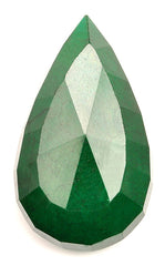 218.50 CARATS PEAR SHAPE 100% NATURAL GREEN EMERALD LOOSE GEMSTONE WITH CERTIFICATE