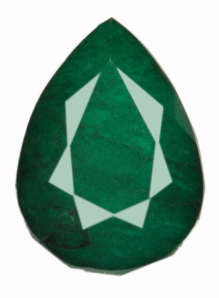 100% NATURAL GREEN EMERALD AWESOME PEAR SHAPE 215.05 CARATS LOOSE GEMSTONE WITH FREE CERTIFICATE