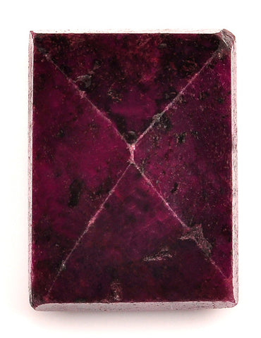 277.80 CARATS RECTANGLE SHAPE 100% NATURAL RED RUBY LOOSE GEMSTONE WITH FREE CERTIFICATE