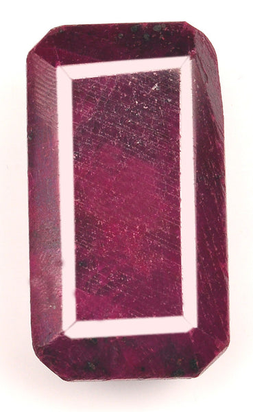 OCTAGON SHAPE 100% NATURAL RED RUBY 256.05 CARATS LOOSE GEMSTONE WITH FREE CERTIFICATE