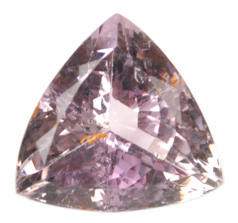 100% NATURAL AMETHYST 11.03 CARATS TRILLION SHAPE LOOSE GEMSTONE WITH FREE CERTIFECATE