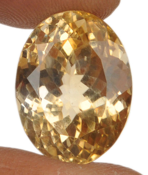 100% CERTIFIED 26.00 CARATS CITRINE OVAL SHAPE NATURAL LOOSE GEMSTONE