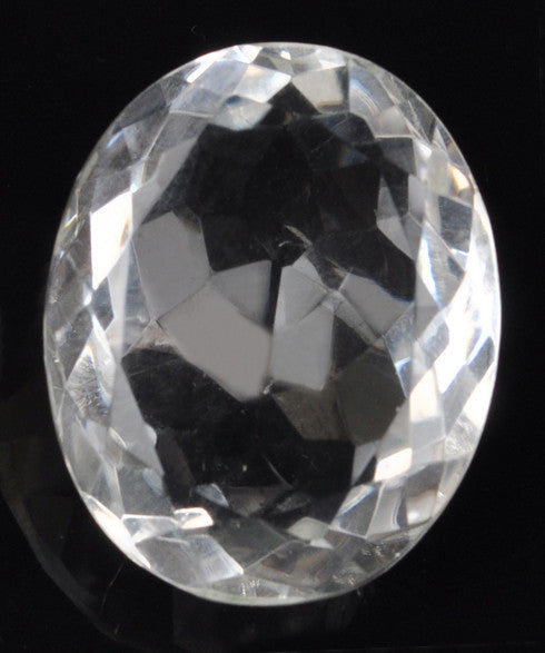 100% CERTIFIED 38.00 CARATS OVAL SHAPE NATURAL WHITE QUARTZ LOOSE GEMSTONE