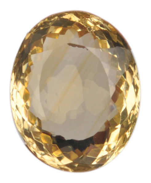 100% CERTIFIED NATURAL CITRINE 23.09 CARATS OVAL SHAPE LOOSE GEMSTONE