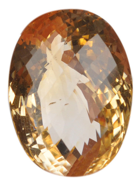 100% NATURAL CITRINE OVAL SHAPE 50.02 CARATS LOOSE GEMSTONE WITH FREE CERTIFECATE
