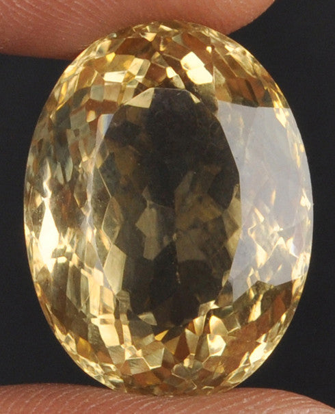 100% CERTIFIED 29.05 CARATS CITRINE OVAL SHAPE NATURAL LOOSE GEMSTONE