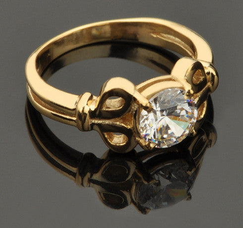 1.35 CARATS 14KT SOLID GOLD AMAZING ROUND SHAPE SOLITAIRE ENGAGEMENT RING
