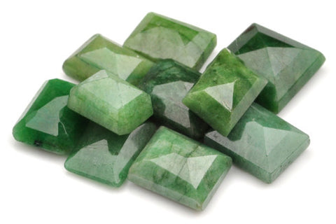 100% CERTIFIED 10PCS. NATURAL EMERALD 124.20 CARATS MIXED SHAPES LOOSE GEMSTONES WHOLESALE LOT