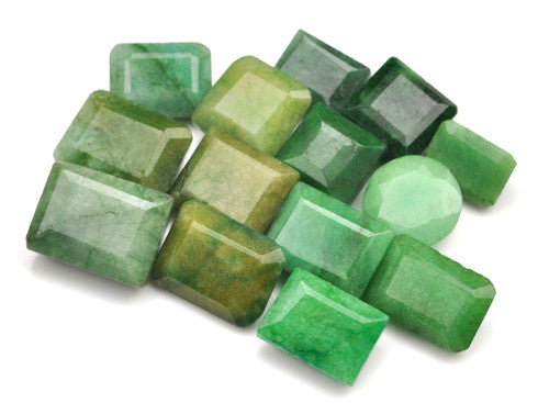 100% NATURAL GREEN EMERALD 178.20 CARATS MIXED SHAPES LOOSE GEMSTONES 16PCS. WHOLESALE LOT WITH FREE CERTIFICATE