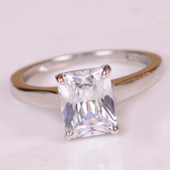 2.50 CARATS CHARMING FANCY SHAPE 14KT SOLID GOLD SOLITAIRE WEDDING RING