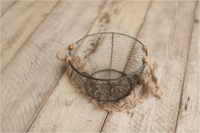 Round Mesh Wire Basket