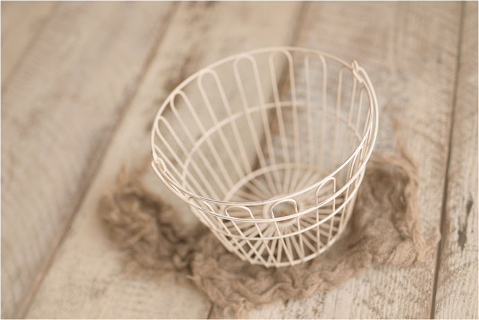Decorative Metal Egg Basket