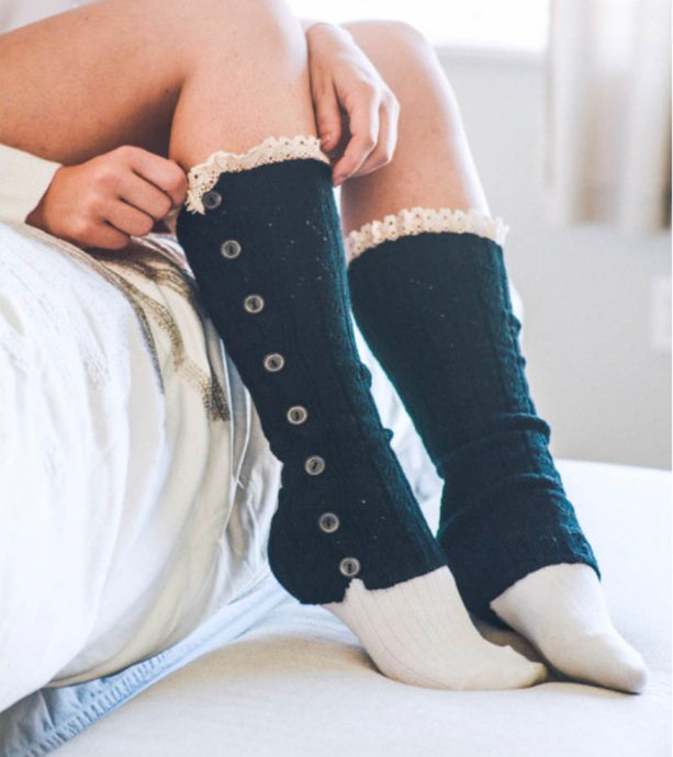Button Leg Warmers