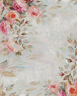 Whimsy Florals Backdrop Fabric