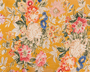 Sunshine Flowers Backdrop Fabric