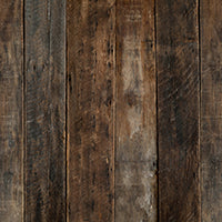 Rozzi Barnwood Planks Mat Floor-Dark Brown