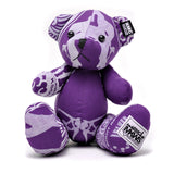RMC Bandana Bear Deep Purple