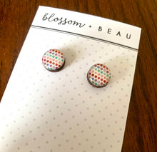 Spots and Dots Resin Studs