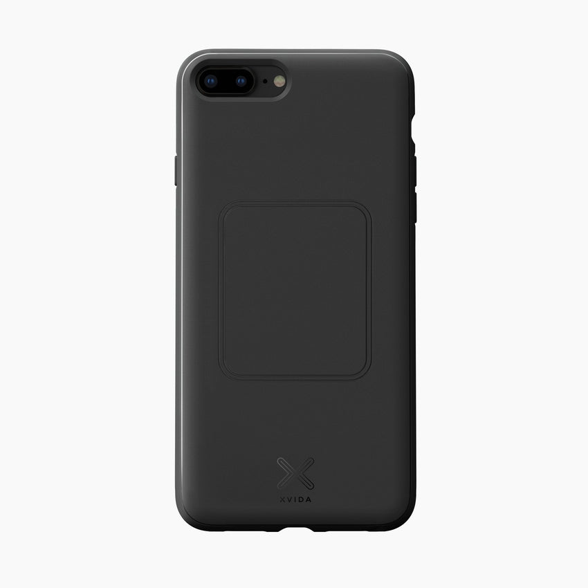 magnetic cover case slim protective for iPhone 8 plus black