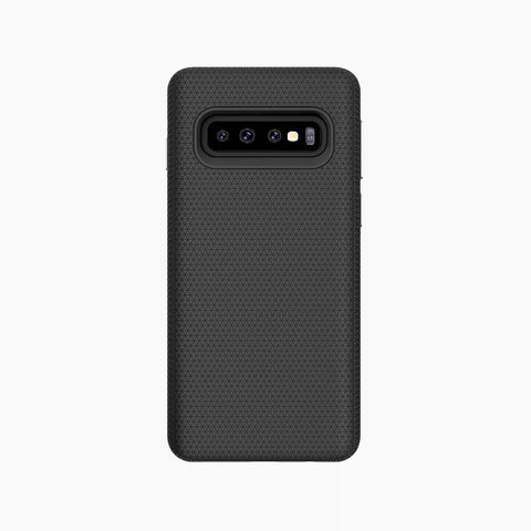 protective shock-absorbent TPU magnetic case for Samsung galaxy s10 black
