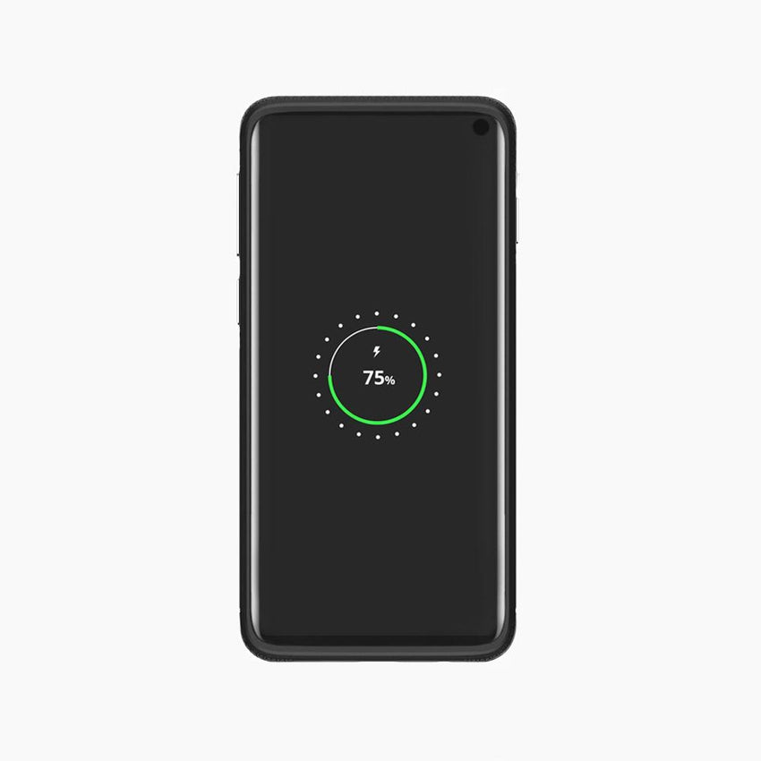 protective shock-absorbent TPU magnetic cover for Samsung galaxy s10 black