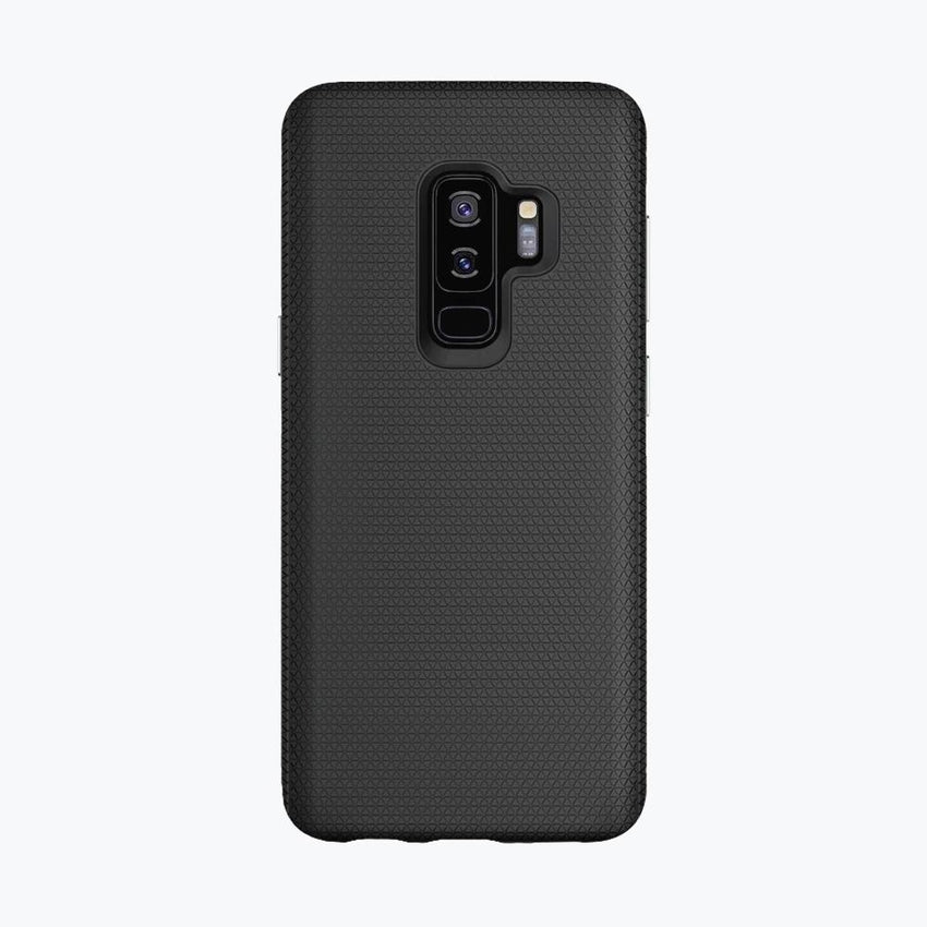 magnetic cover case for Galaxy S9+ works with wireless chargers