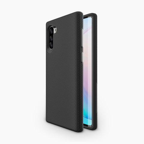 Galaxy Note10 Case Featuring a magnetic back, compatible with magnetic wireless charging car holders and stands