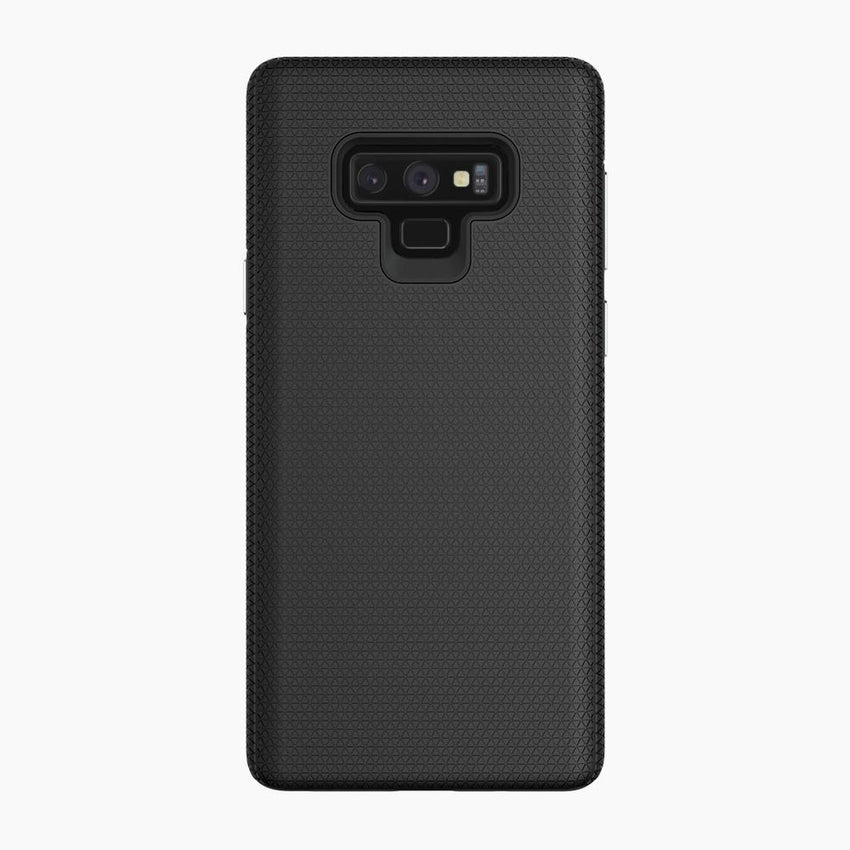 Galaxy Note 9 Case Featuring a magnetic back, compatible with magnetic wireless charging car holders and stands