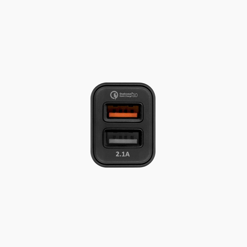 Quick Charge 20 Usb Dual Port Usb Car Charger Xvida