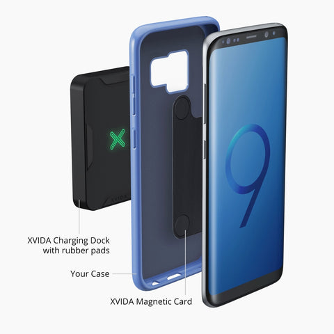 magnetic adapter for xvida wireless charging dock for Samsung Galaxy S9