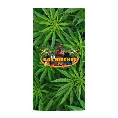 Ras Kitchen Beach Bud Towel