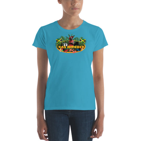 Women's Ras Kitchen Logo  t-shirt