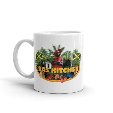 Ras Kitchen Logo Mug