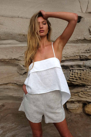 Stella Cream Top