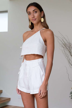 Lea One Shoulder Top